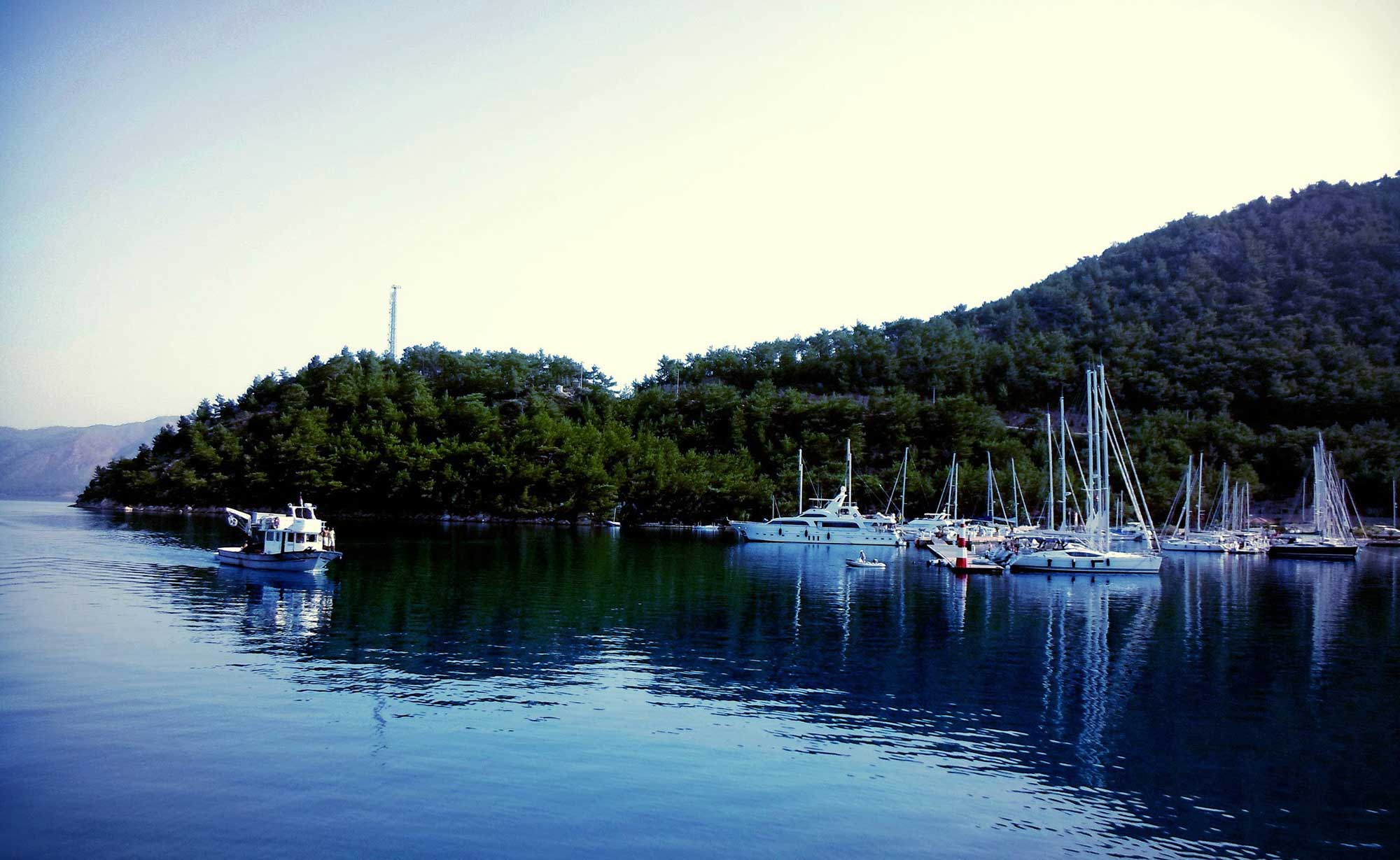 Bodrum – Gulf of Hisaronu – Bodrum with A/C Boats