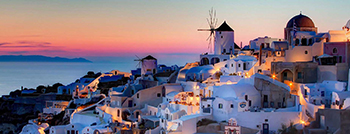Santorini - Mykonos - with A/C Boats