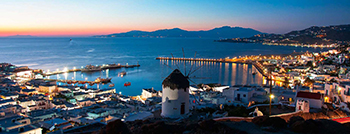Mykonos - Santorini with A/C Boats<BR /><Strong style='font-size:15px;'>Party and Relaxation for under 35s </Strong>