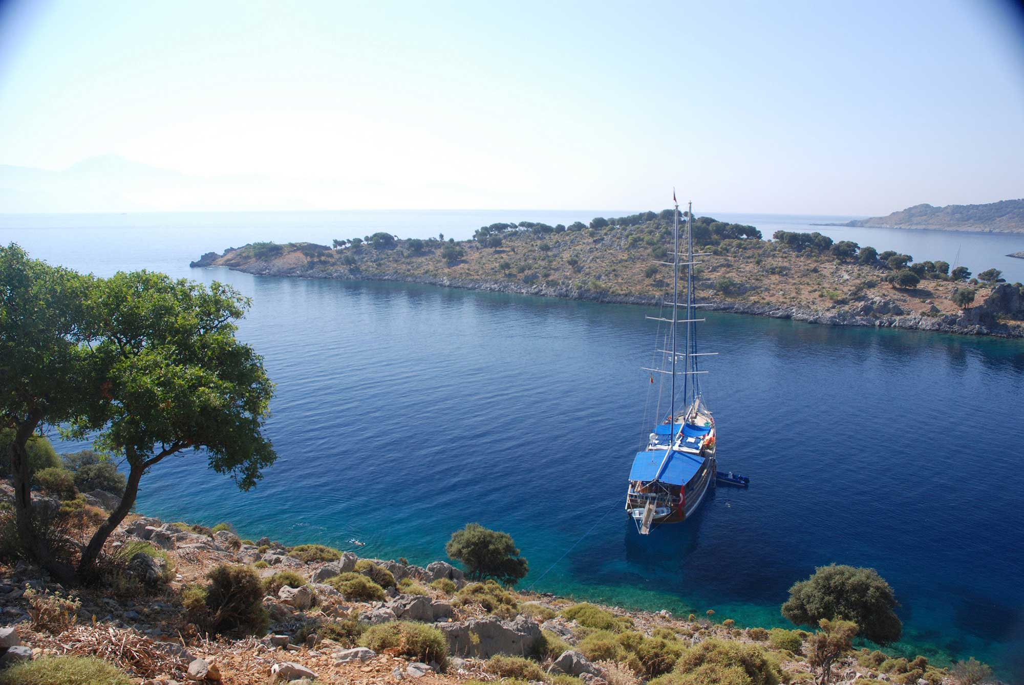 Karacasogut - Bodrum (Mini Tour) with A/C Boats